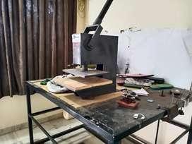 Champal making machine manually.