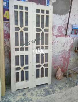 Wooden Jaali Doors ( ibrar wood )