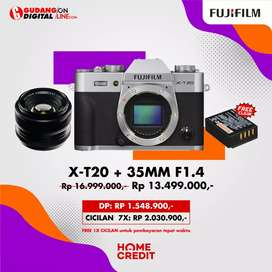 Mirrorles X-T20 + 35mm Kredit Promo Bunga 0%