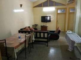 Fully furnished PG with AC near Miramar beach