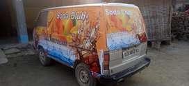 Soda machine with maruti omni