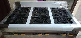 Jual murah kompor gas burner 6 tungku masema type : EE-RQB-700-6T