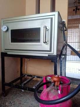 Oven gas api atas bawah