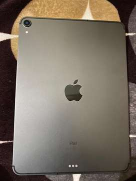 Space grey 3rd generation ipad pro 64 gb wifi + cellular