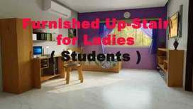 Up- Stair for Ladies ( Students ) Rs: 15K