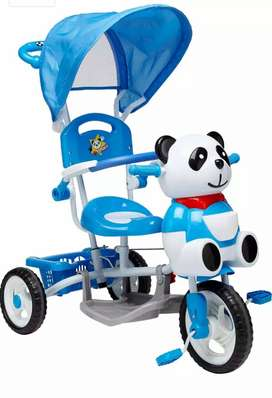 Baby Tricycle + Pram with cnopy