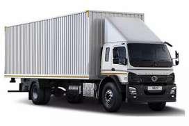 Bharat benz container lorry for daily rent