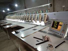 Embroidery  machine sell parches