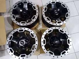 Velg HSR Wheel R15 Cocok untuk Mobil Xpander Rush Innova Terios Ring15