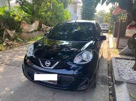 Dijual WTS Nissan March 2014 Hitam Low KM