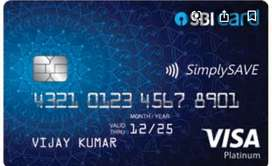 Urgent hiring For SBI Credit card