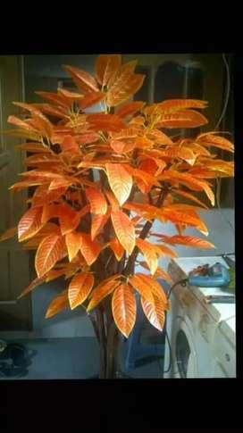 Jual tanaman pohon bunga plastik