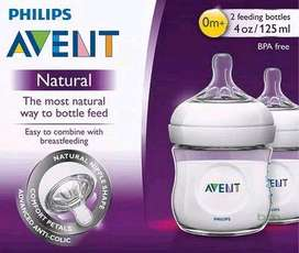 Botol susu avent natural 125ml (isi 2)
