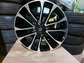 Tata,mahindra,ford using 15 inch 4 hole 108 pcd brand new Alloy