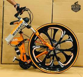Bharat Folding Cycle, 21 Shimano Gears Latest Models Available