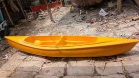 perahu kano kuning, perahu dayung