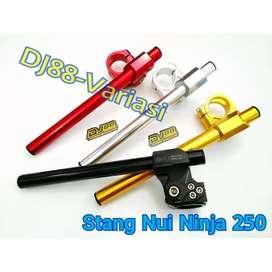 Stang jepit Nui ninja 250 karbu ninja 250 fi RR mono cbr 250 thailand