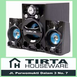 Speaker Aktif Niko Dynamite Bluetooth FM Radio