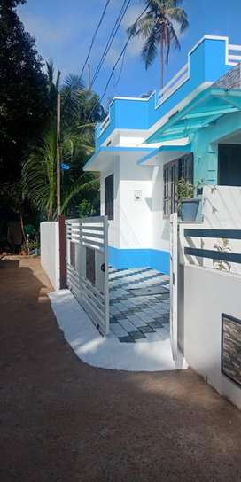 Two bedroom house for rent at Malippuram Vypin