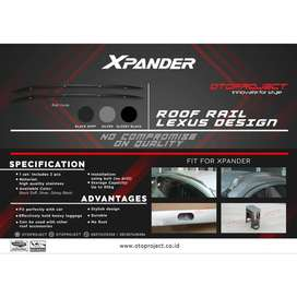 Roffrail model LEXUS Xpander Silver^^KIKIM VARIASI^^