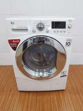 LG direct drive 6/3kg front load washing machine, free home delivery