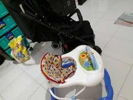 Jual Stroller Pliko Sprint 379 RX bonus baby walker