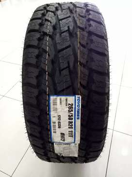 TOYO OPEN COUNTRY AT2 BARU BAN MOBIL MADE IN JAPAN 265/50 RING 20 KUAT