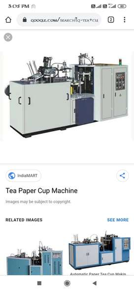 Required operator for tea cups machine