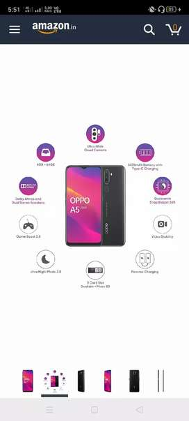 Oppo a 5 2020 good looking