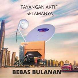 Parabola mini MNC Vision Bebas bulanan gratis biaya Pasang