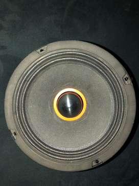 Bullet mid speaker