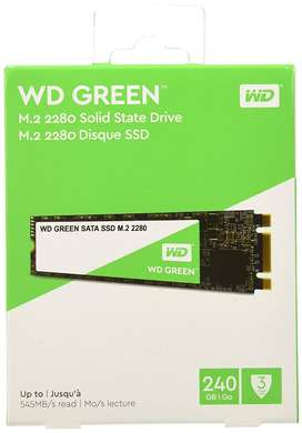 Sealed pack 240 GB m.2 Solid State Disk for Laptop, 3 Year Warranty