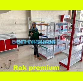 Rak gondola minimarket toko murah