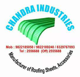 Manufacturer of roofing sheet Tata jsw and essar