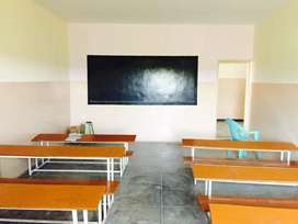 School building for rent with all furniture