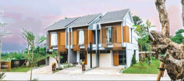 Rumah 2 Lantai FULL FURNISH - Nuansa Bali di SERPONG