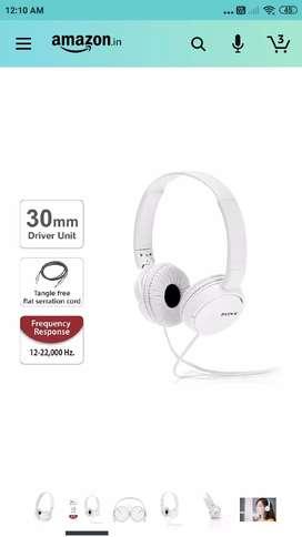 Sony brand headphone