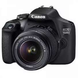 Canon 1500d. 5month old
