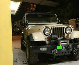 Bumper depan model Arb mobil jeep dll