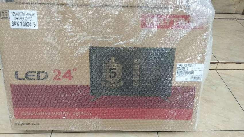 TV LED POLYTRON 24 inch cinemax 0