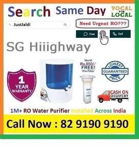 SGG Hiiighway Dolphin RO water Filter Water Purifier  Drink CLean Wat