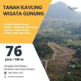 Booking Segera Tanah Kavling Wisata Untuk Simpanan Investasi Untuk Ana