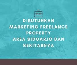 Freelance marketing perumahan area sidoarjo dan sekitarnya