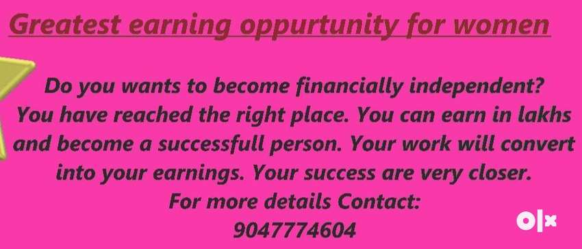 Greatest earning opportunity for women 0