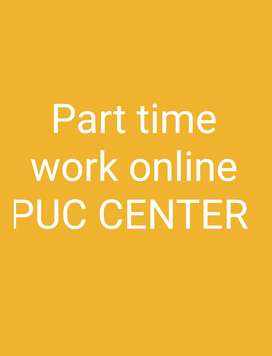 work for Online PUC center