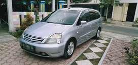 Honda stream 2.0 matic 2003, plat A, pajak off 4 bulan
