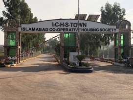 ICHS Town 5 Marla plots for sale at best rate