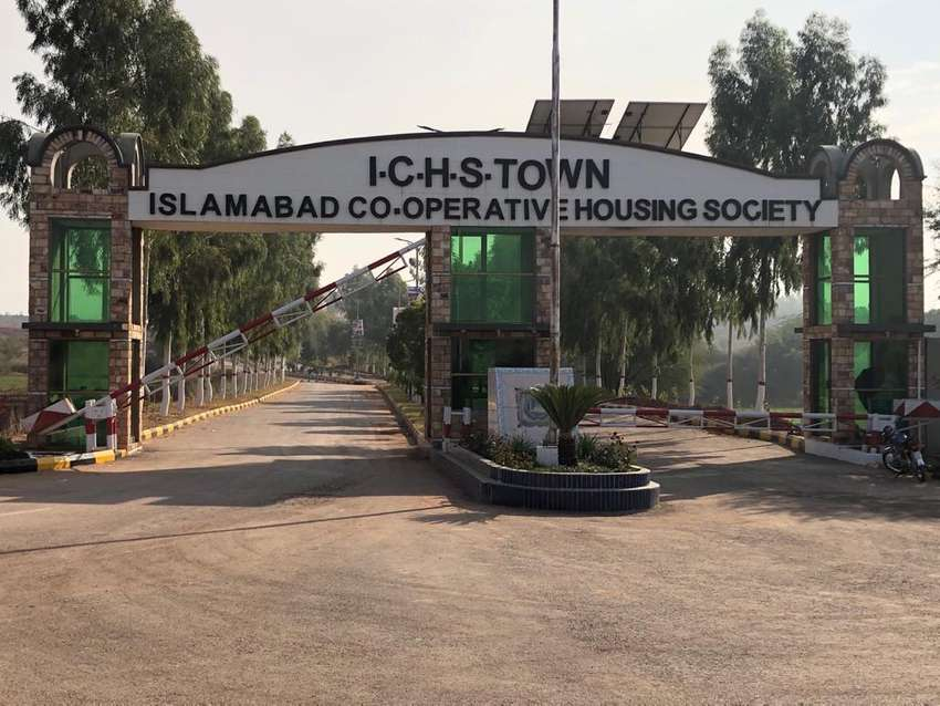 ICHS Town 5 Marla plots for sale at best rate 0