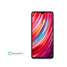 New xiaomi redmi note 8 pro with a fast in display fingerprint process