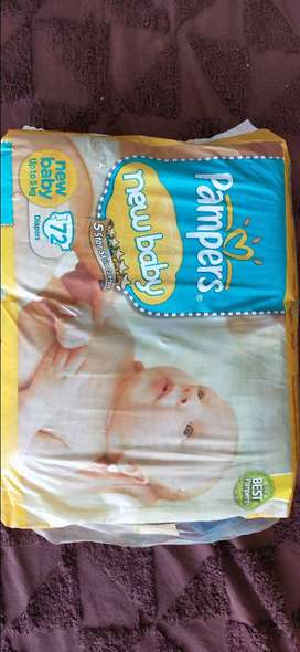 Pampers new baby (Up to 5 kg) Diapers